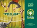 #B7# -  Jardins de Thoiry - Born to be wild, faire le singe, Safari air park - 2018