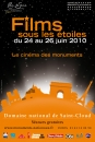 Domaine national de Saint-Cloud - Films sous les �toiles :