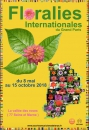 #A176# -  Floralies internationales du Grand Paris - 2018
