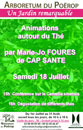 #A87# -  Les Arbres du monde au Huelgoat - Animations autour du th�  - 2009